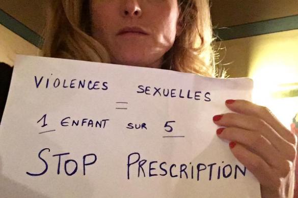 Après les violences faites aux femmes, Julie Gayet s'engage à nouveau