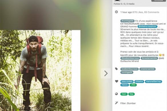 M Pokora part à l'aventure ; Marine Lorphelin est trop chouette ; et Nabilla voit la vie en prose… La vie des people sur le web commentée par Florian Gazan !