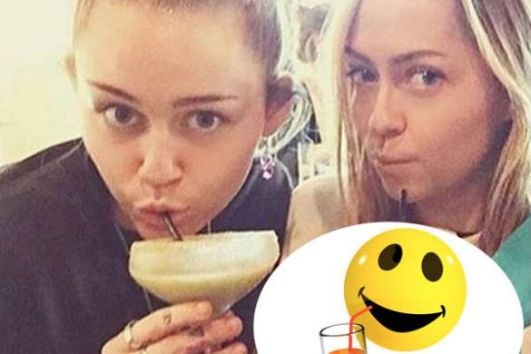 Miley Cyrus se prend pour un émoticône, la preuve…