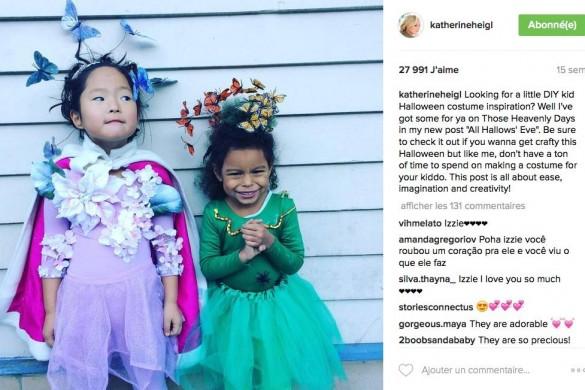 Katherine Heigl partage une photo d'anniversaire trop mignonne (Photos)