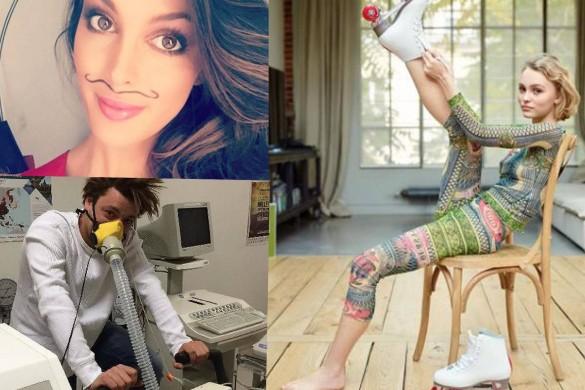 Lily-Rose Depp lève le pied ; Miss France se laisse pousser la moustache ; et Kev Adams met les gaz… La vie des people commentée par Florian Gazan !