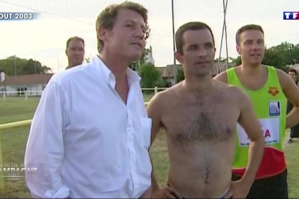 WTF ? Benoît Hamon torse nu sur TF1 (photos)