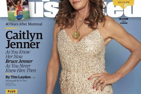40 après sa médaille olympique, Caitlyn Jenner en Une de'Sports Illustrated'