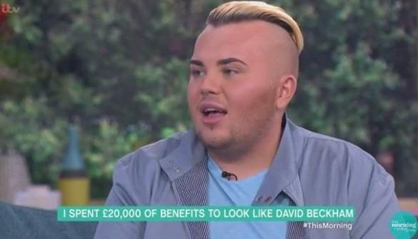 Il dépense 23 000 euros pour ressembler à David Beckham… et le résultat est catastrophique !