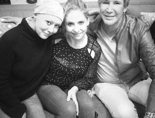 Sarah Michelle Gellar : sa jolie déclaration à son amie Shannen Doherty, qui «botte les fesses du cancer»