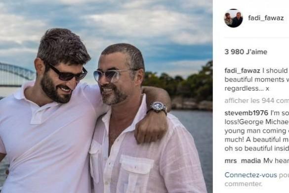 Le message très poignant du petit ami de George Michael