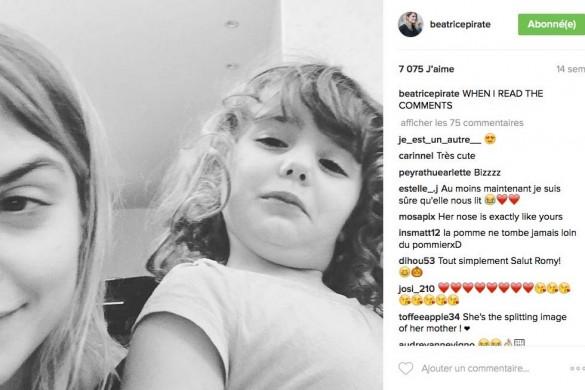 Coeur de pirate s'amuse sur la coupe «playmobil» de sa fille (Photos)