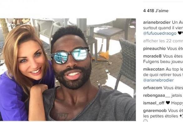 Ariane Brodier en bikini : son message tendre pour son chéri (Photo)